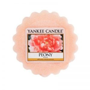 Venta de tarts oficiales Yankee Candle. Aroma a peony.