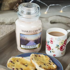 Vela Yankee Candle en jarra grande lake sunset