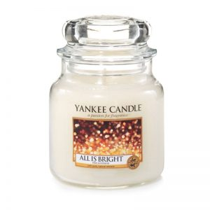 Yankee Candle en jarra Mediana con aroma All is Bright