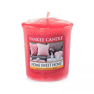 Vela Yankee Candle votiva con aroma Home Sweet Home