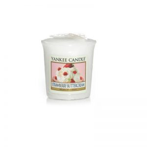 Vela Yankee Candle votiva con aroma Strawberry Buttercream
