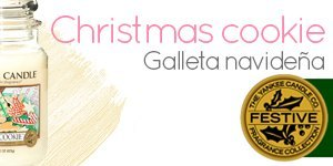 Vela Yankee Candle con aroma a Christmas Cookie
