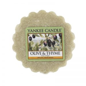 Tart Yankee Candle aroma Olive & Thyme