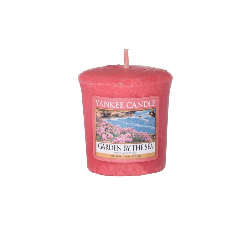 Vela Yankee Candle votiva con aroma Garden by the Sea