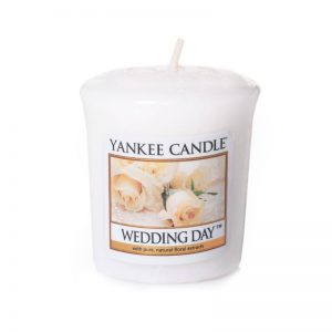 Vela Yankee Candle votiva con aroma Wedding Day