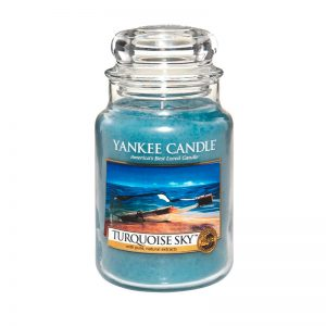Yankee Candle en jarra grande con aroma Turquoise Sky