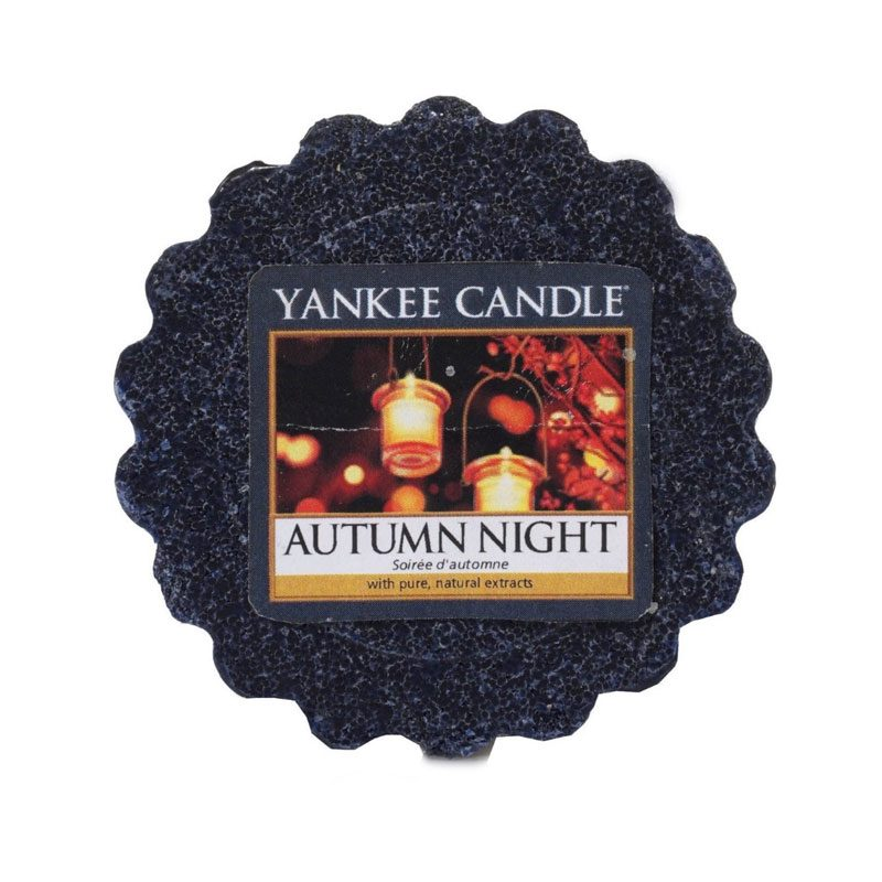 Tart Yankee Candle aroma Autumn Night