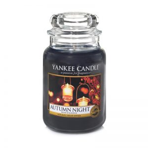 Vela jarra grande Yankee Candle Autumn Night