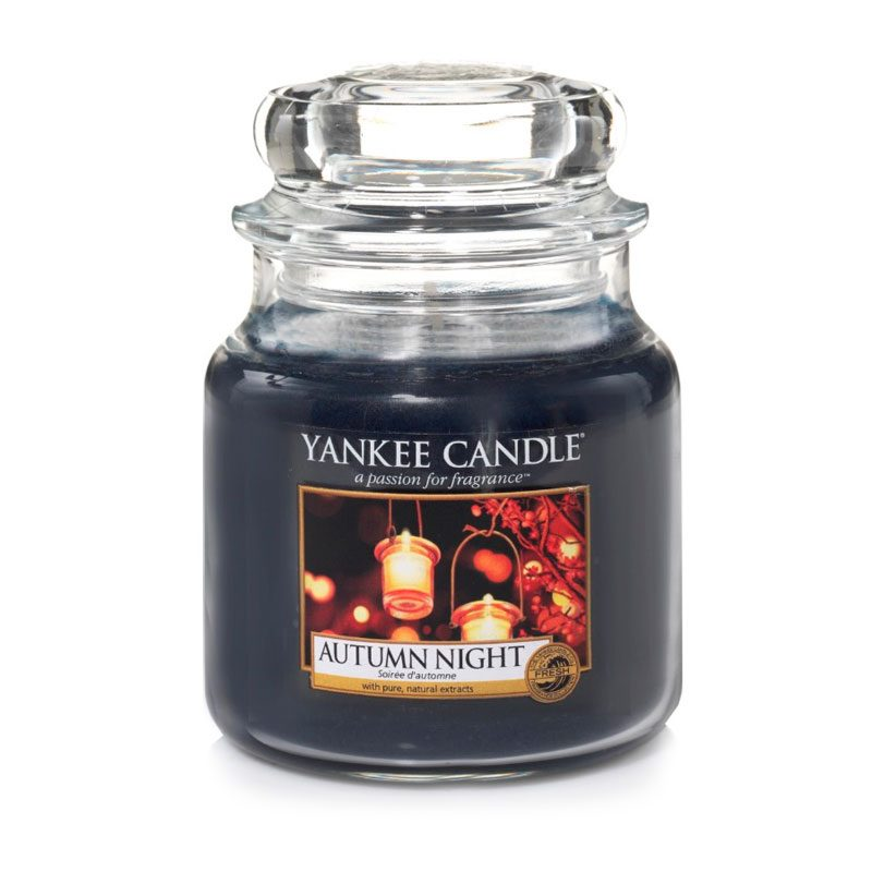 Yankee Candle en jarra Mediana con aroma Autumn Night