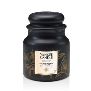 Yankee Candle Golden Orange Blossom, jarra mediana