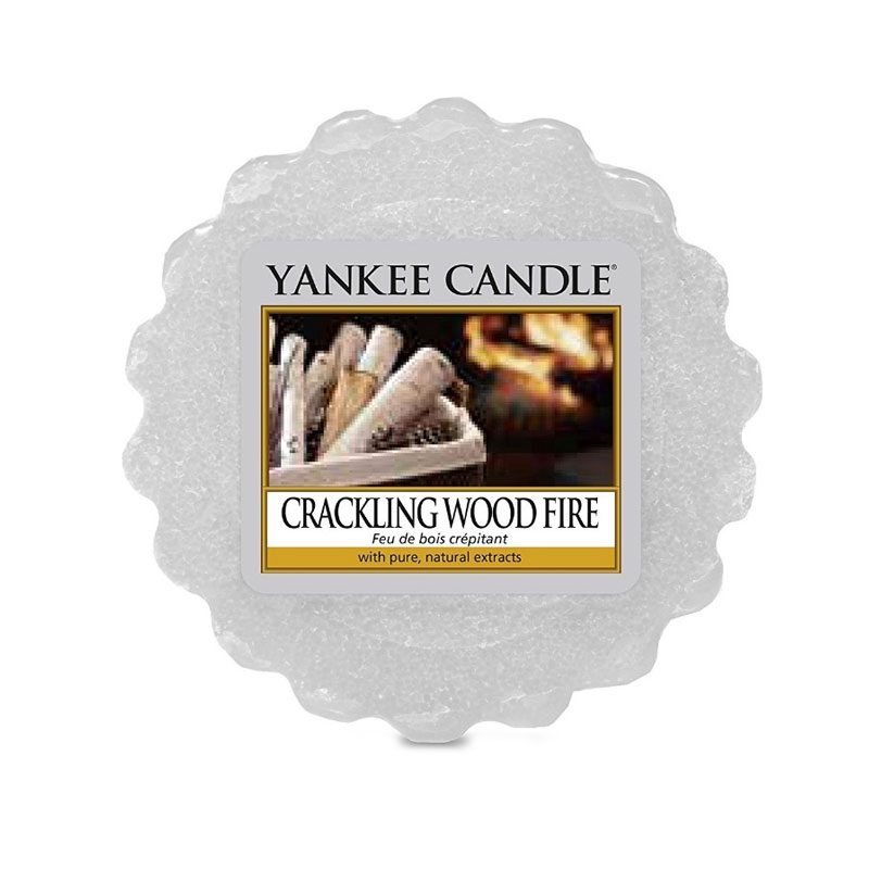 Tart Yankee Candle aroma Crackling Wood Fire