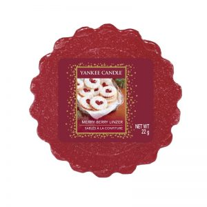 Tart Yankee Candle aroma Merry Berry Linzer
