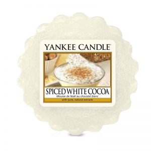 Tart Yankee Candle aroma Spiced White Cocoa