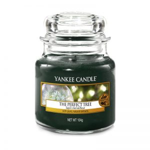 Vela Yankee Candle en jarra pequeña con aroma a The Perfect Tree