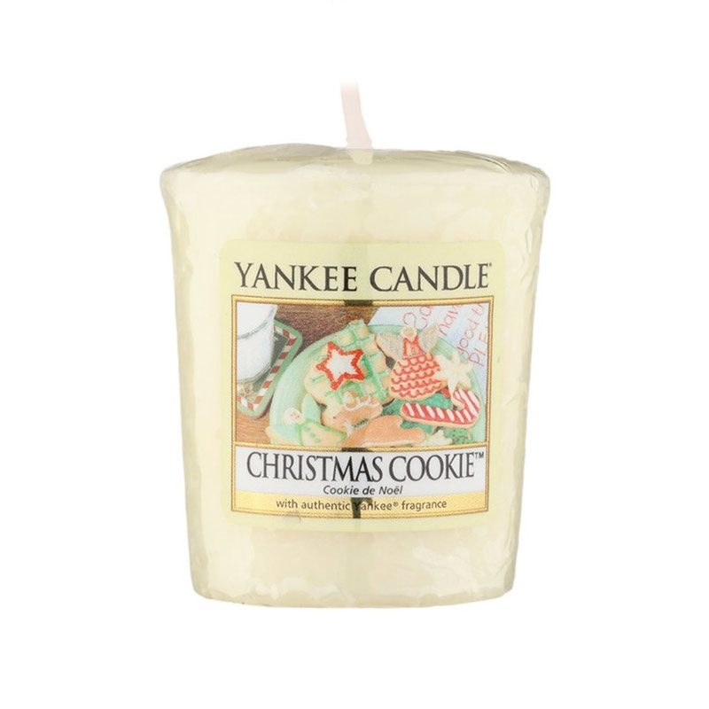 Vela Yankee Candle votiva con aroma a Christmas Cookie