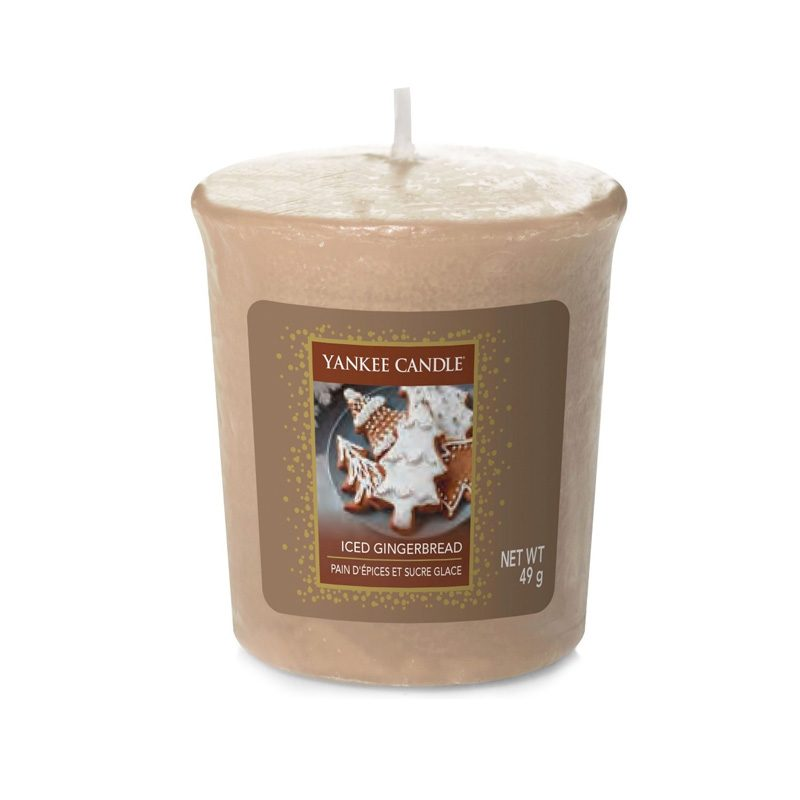 Vela Yankee Candle votiva con aroma Iced Gingerbread