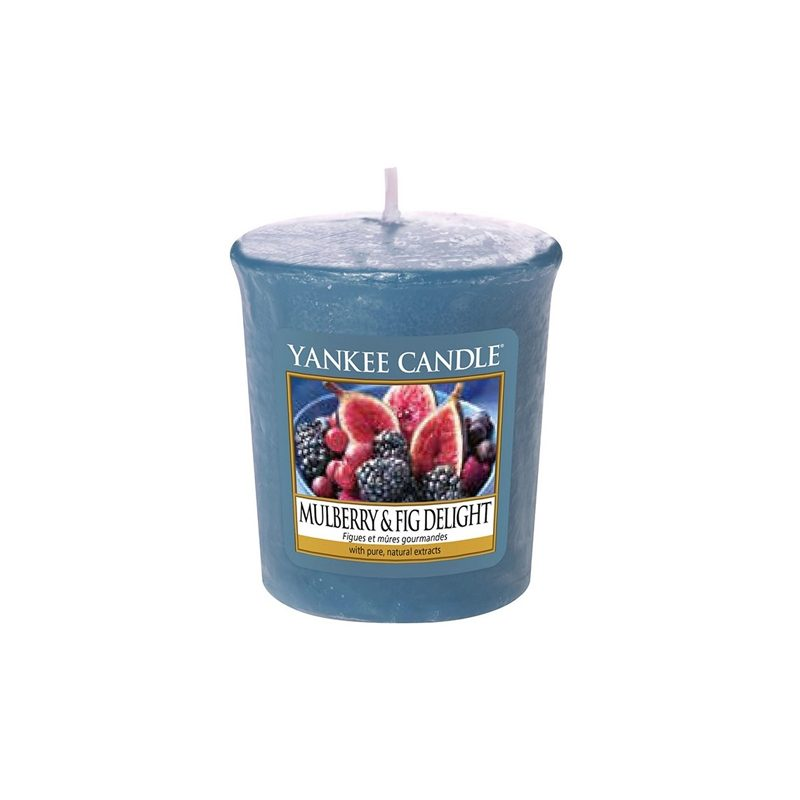 Vela Yankee Candle votiva con aroma Mulberry & Fig Delight