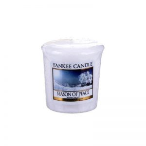 Vela Yankee Candle votiva con aroma a Season of Peace
