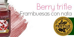 Velas Yankee Candle con aroma a Berry Trifle