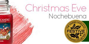 Yankee Candle con aroma a Christmas Eve