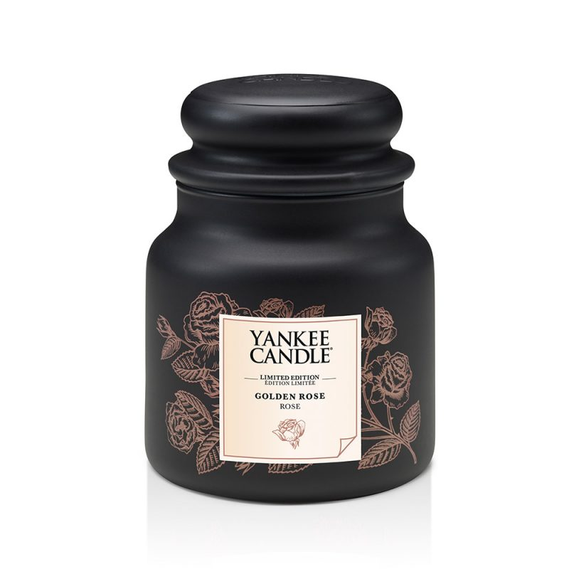 Yankee Candle Golden Rose, jarra mediana