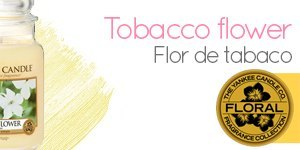 Vela Yankee Candle con aroma a Tobacco Flower