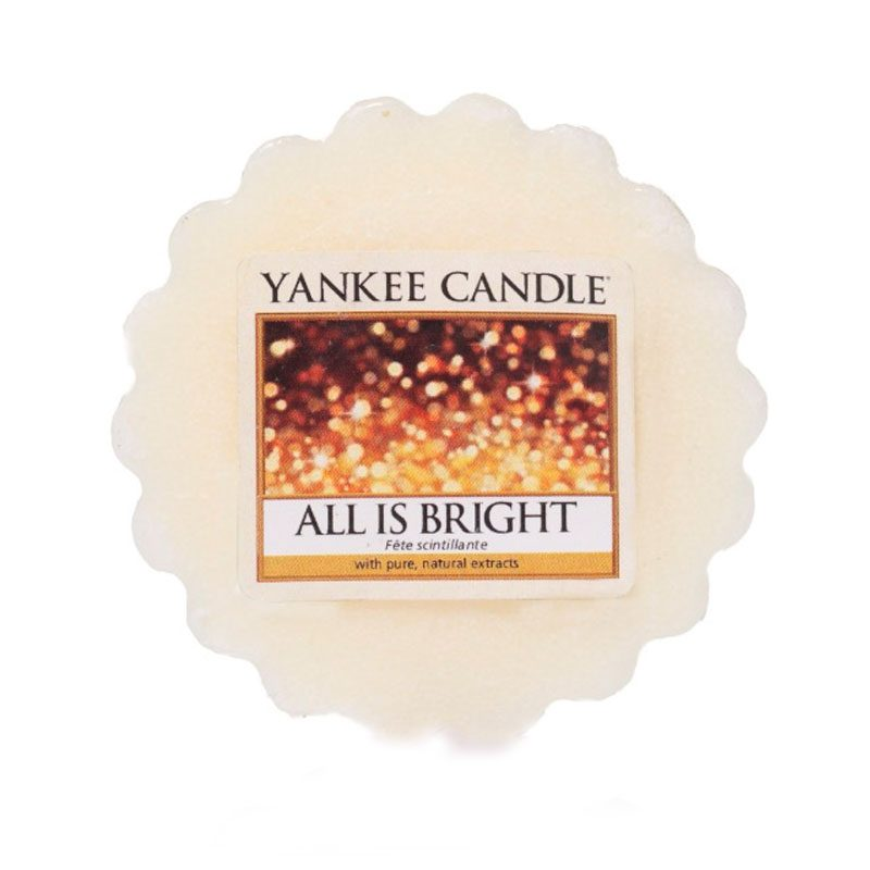 Tart Yankee Candle con aroma All is bright