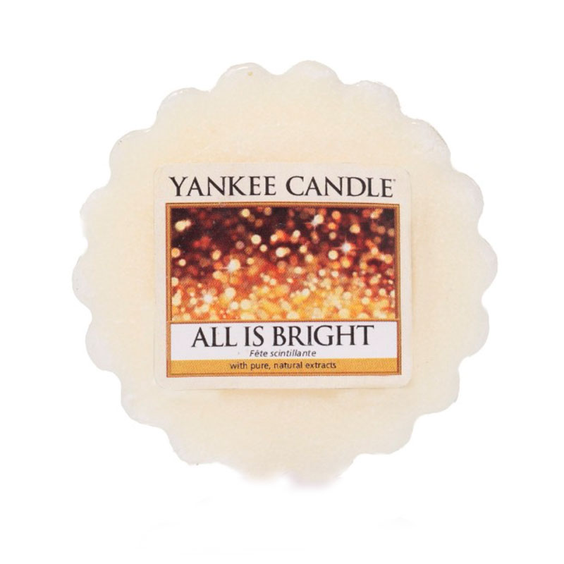 Tart Yankee Candle Con Aroma All Is Bright Shop Online
