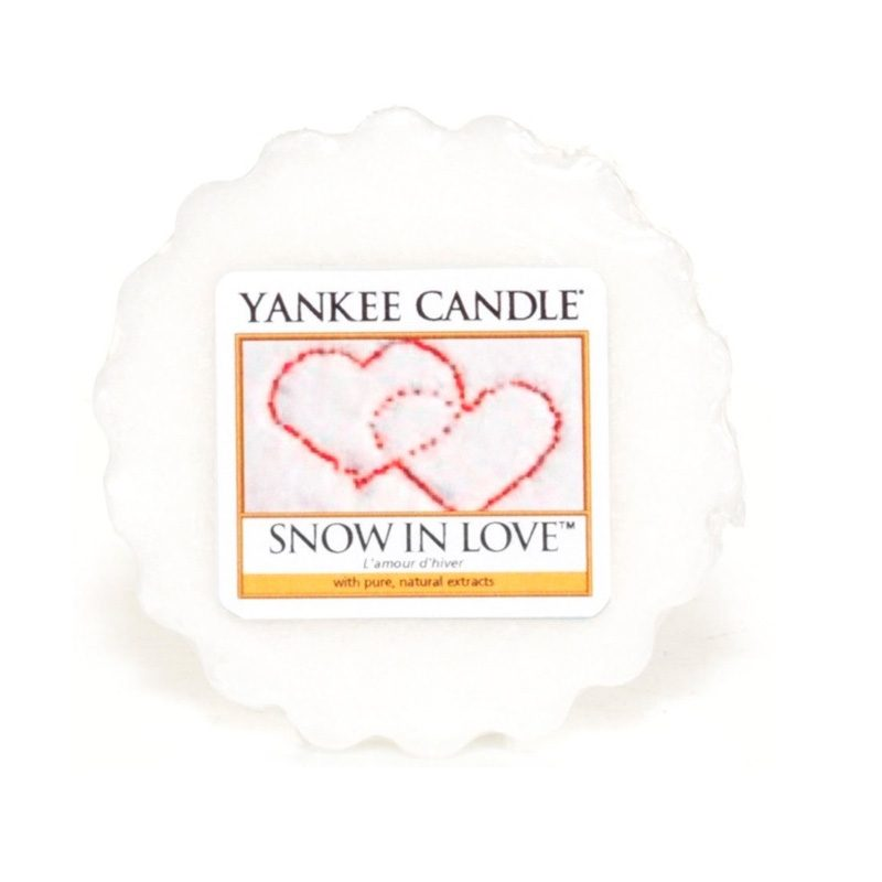 Tart Yankee Candle aroma Snow in Love