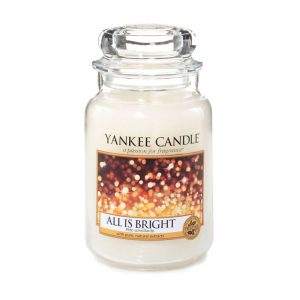 Yankee Candle en jarra grande con aroma All is Bright