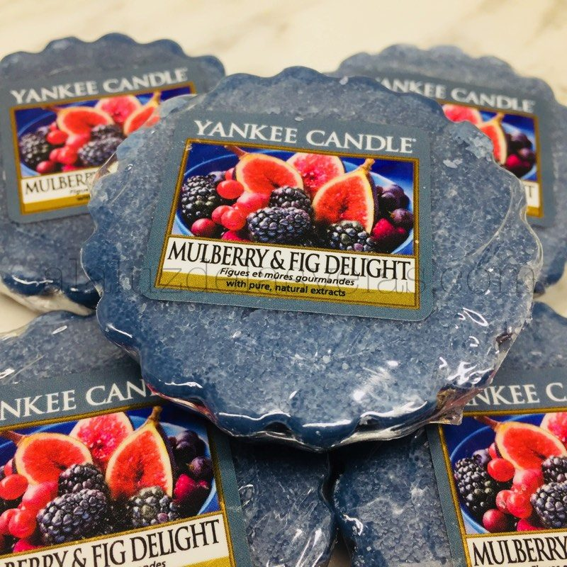 Tart Yankee Candle aroma Mulberry & Fig Delight