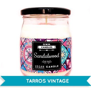 Tarros vintage Own candle
