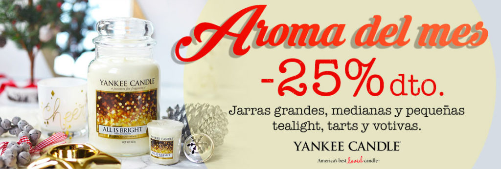 Aroma del mes Yankee Candle