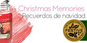 Yankee Candle con aroma a Christmas Memories