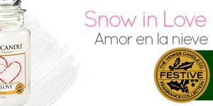 Yankee Candle con aroma Snow in love