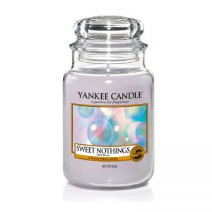 Yankee Candle en jarra grande con aroma Sweet Nothings