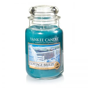 Yankee Candle en jarra grande con aroma Cottage Breeze