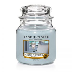Yankee Candle en jarra Mediana con aroma a A Calm & Quiet Place