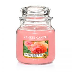 Yankee Candle en jarra Mediana con aroma a Sun-Drenched Apricot Rose