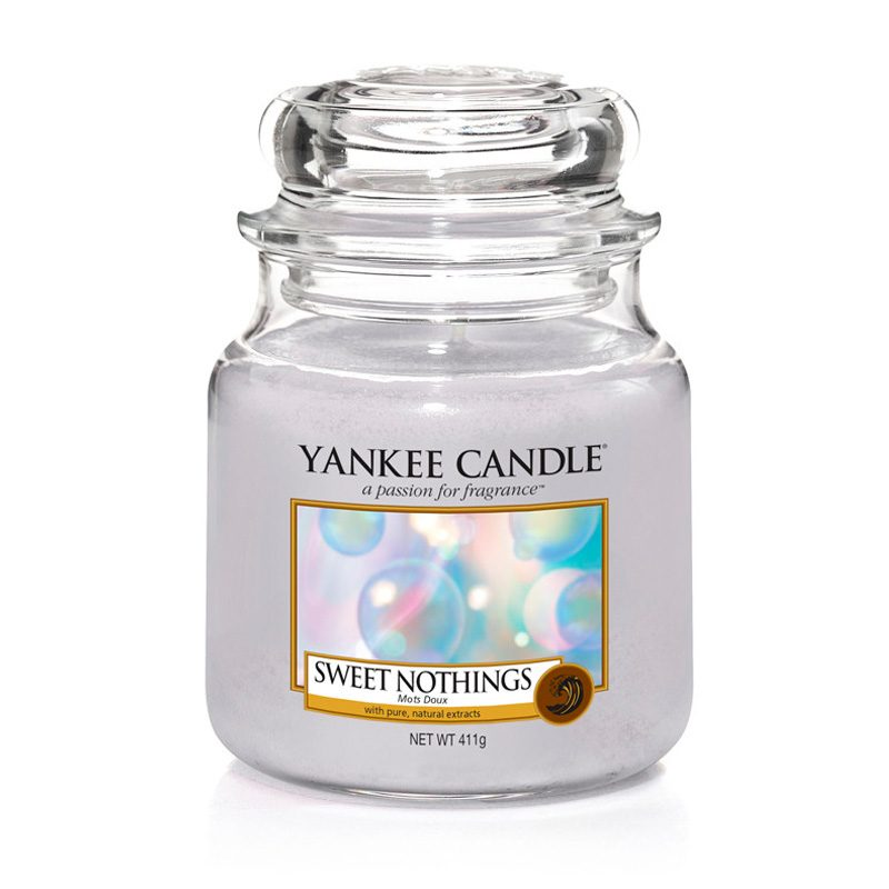 Yankee Candle en jarra Mediana con aroma a Sweet Nothings