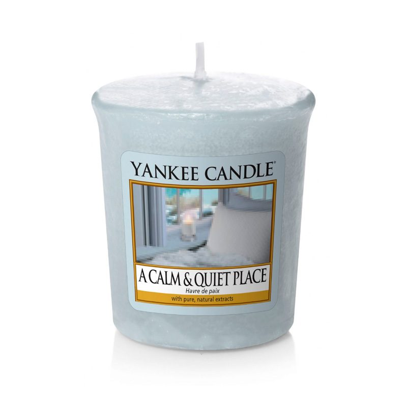Vela Yankee Candle votiva con aroma a A calm and quiet place