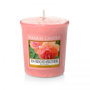 Vela Yankee Candle votiva con aroma a Sun-Drenched Apricot Rose