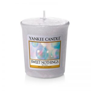 Vela Yankee Candle votiva con aroma a Sweet Nothings