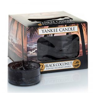 Tealights Yankee Candle con aroma Black Coconut