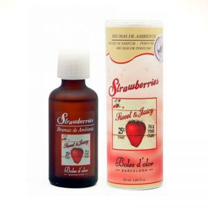 Bruma para brumizadores Boles d'olor. Strawberries. 50ml.