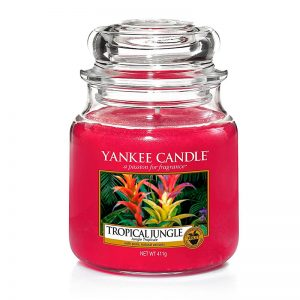 Yankee Candle en jarra Mediana con aroma a Tropical Jungle