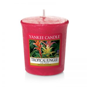 Vela Yankee Candle votiva con aroma a Tropical Jungle