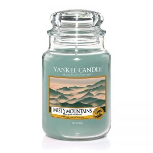 Yankee Candle en jarra grande con aroma Misty Mountains