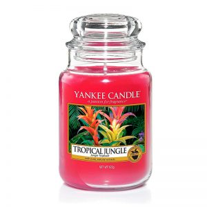 Yankee Candle en jarra grande con aroma Tropical Jungle