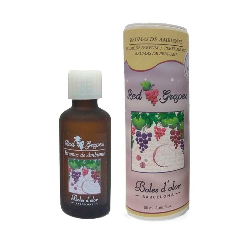Bruma para brumizadores Boles d'olor. Red Grapes. 50ml.